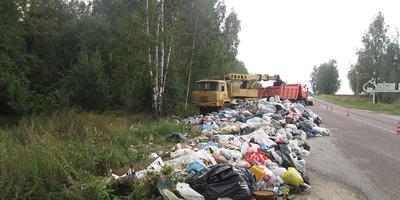Полигон отходов в Московской области уличен в нарушениях экологических норм