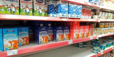 Роспотребнадзор изъял с прилавков более 100 тонн молочной продукции, не соответствующей требованиям