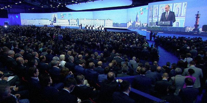 Attek group посетила ПМЭФ-2016. О рынке труда и боях ММА