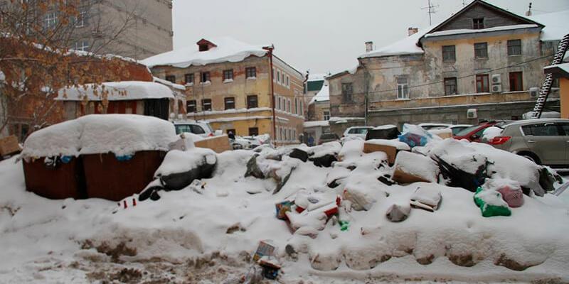 В Татарстане виновники незаконного складирования снега привлечены к уголовной ответственности