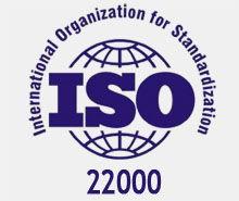 Сертификат ISO 22000:2007 (HACCP)